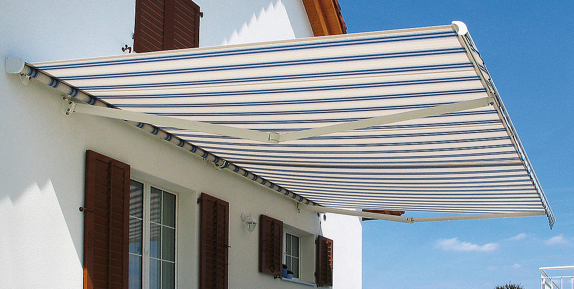 Open awnings - SELECT S8130 | Sun Protection and Weather Protection with STOBAG