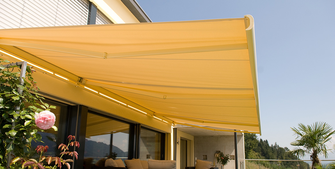 Box awnings - RESOBOX BX8000 | Sun Protection and Weather Protection with STOBAG