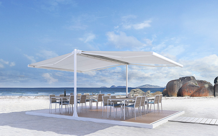 Floor system - Systemboden SB4700 | Sun Protection and Weather Protection with STOBAG