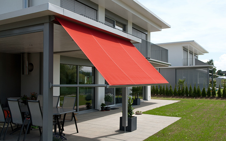 Drop arm awnings and window awnings - METRO S3110 | Sun Protection and Weather Protection with STOBAG