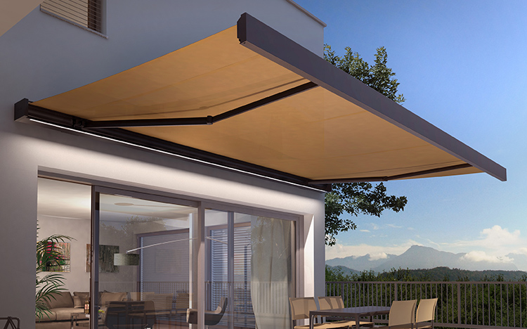 Box awnings - CAMABOX BX4000 | Sun Protection and Weather Protection with STOBAG
