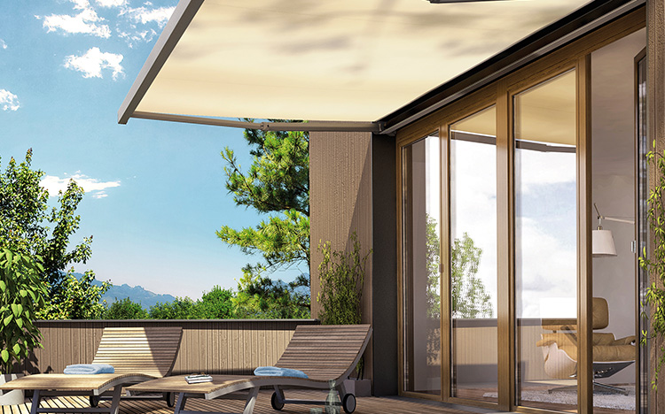 Box awnings - CASABOX BX2000 | Sun Protection and Weather Protection with STOBAG