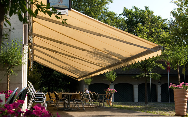 Open awnings - JUMBO S2160 | Sun Protection and Weather Protection with STOBAG
