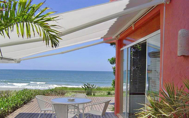 Open awnings - SELECT S8135 OMBRAMATIC | Sun Protection and Weather Protection with STOBAG