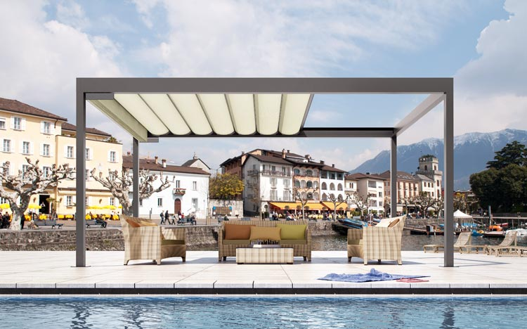 Pavilions - BAVONA TP6100 Softtop | Sun Protection and Weather Protection with STOBAG