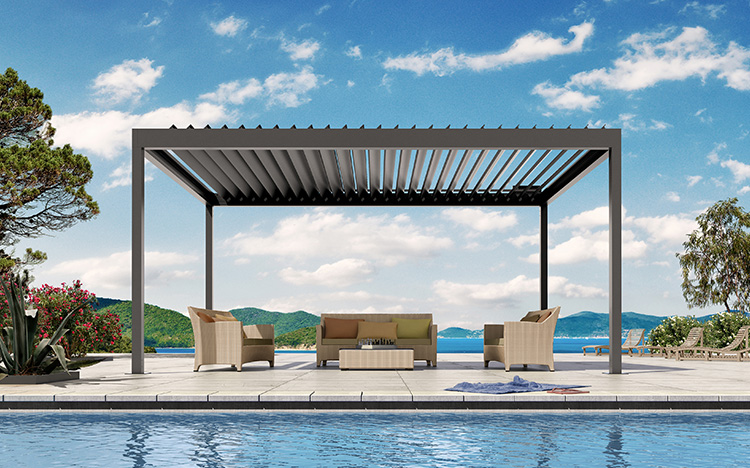 Pavilions - BAVONA TP6500 Hardtop | Sun Protection and Weather Protection with STOBAG