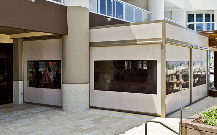 Vertical awnings - VENTOSOL VC5300 | Sun Protection and Weather Protection with STOBAG