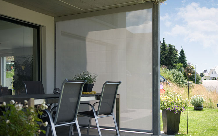Vertical awnings - VENTOSOL VS5100 | Sun Protection and Weather Protection with STOBAG