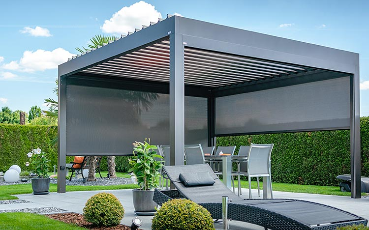 Pergolas & Pavilion - Pavilions | Sun Protection and Weather Protection with STOBAG