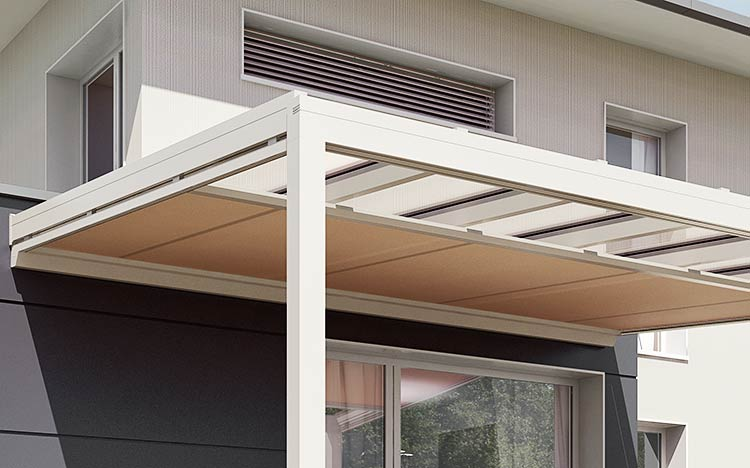 Conservatory & atrium - Conservatory shadings | Sun Protection and Weather Protection with STOBAG