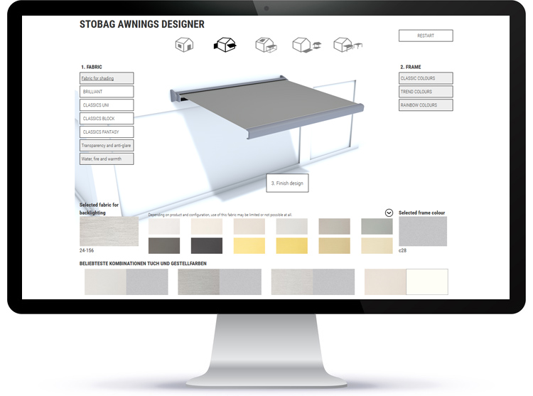 Awnings Designer STOBAG
